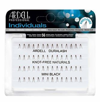 Ardell Natural Lashes Mini Black Knotted Flares