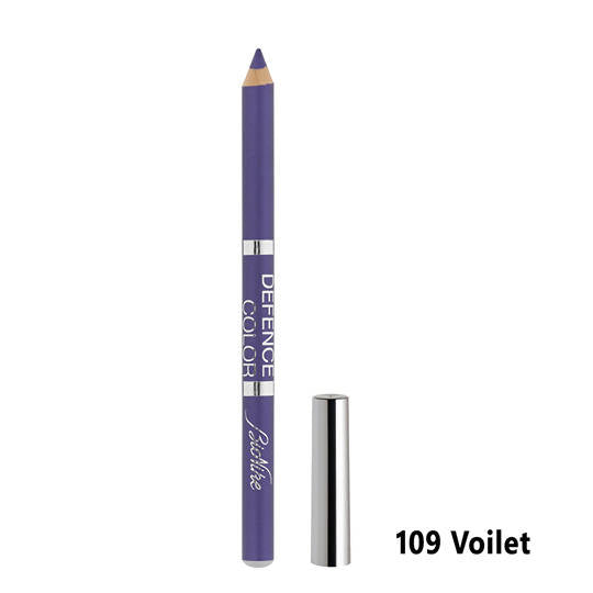 Defence Color Kohl & Kajal Eye Pencil - Violet 109