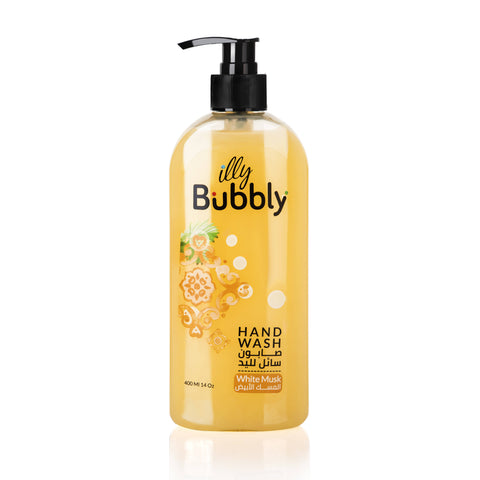 Illy Bubbly white Musk Hand Wash 400ml