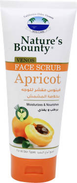 Nature's Bounty Face Scrub Apricot 200ML