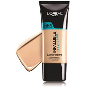 L'Oreal Infallible Pro-Glow Foundation - Natural Buff