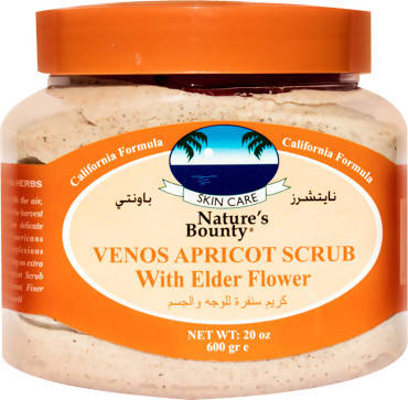 Nature's Bounty Apricot Scrub with elder flower 600gm