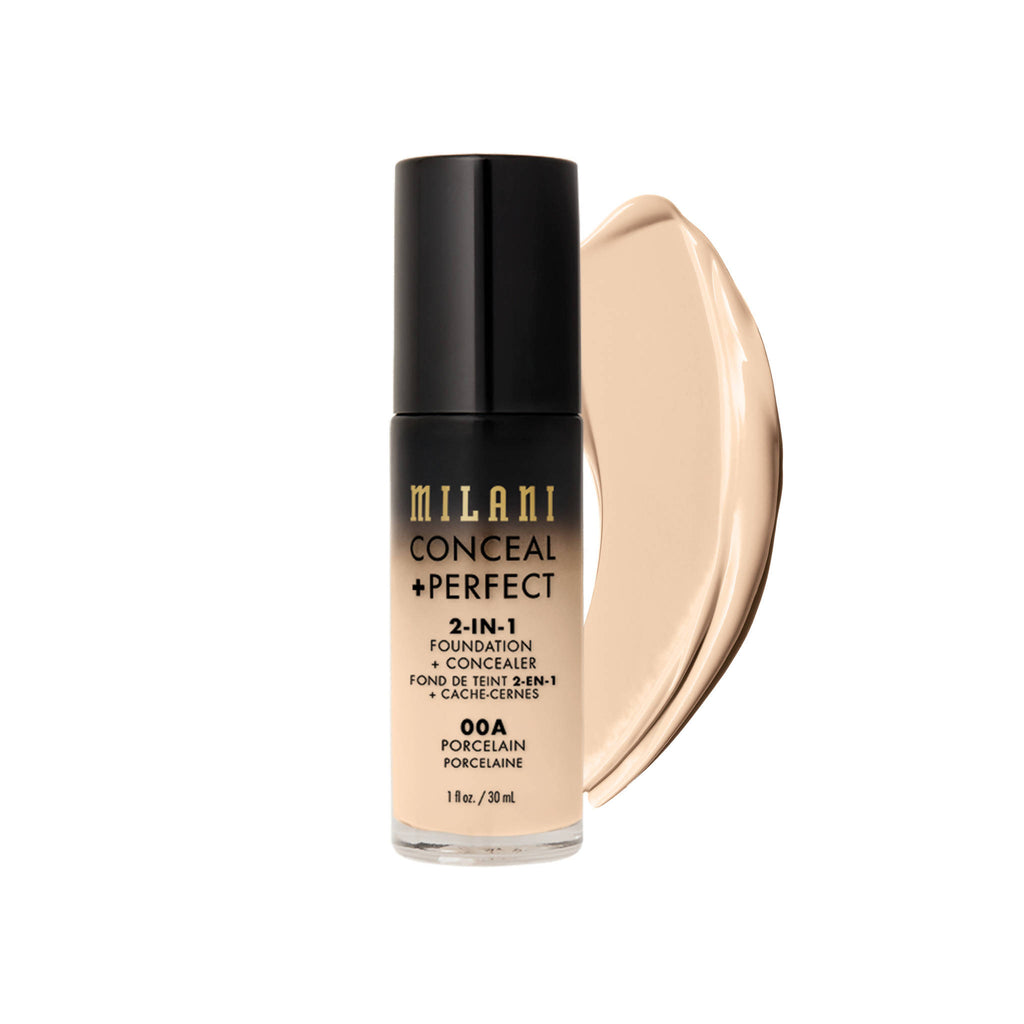 Milani CONCEAL + PERFECT 2-IN-1 FOUNDATION AND CONCEALER - porcealin