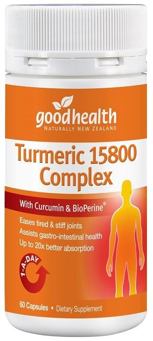 Good Health Products Turmeric 15800 Complex