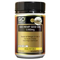 Go Healthy Go Hemp Seed Oil 1100mg