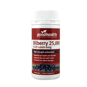 Good Health Products Bilberry 25000