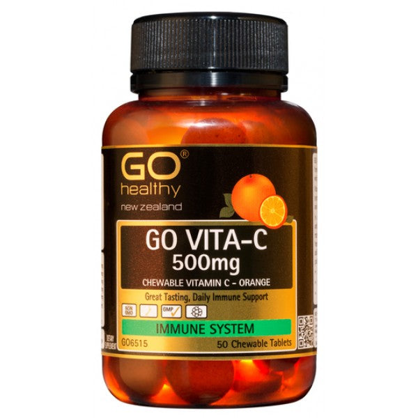 Go Healthy Go Vita-C 500mg Orange