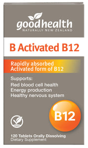 Good Health Products Activated B12