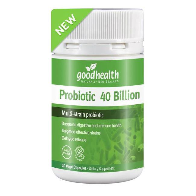 GHP Probiotic 40 Billion 30vcps