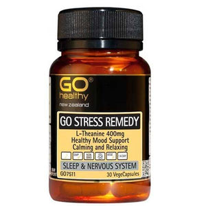 Go Stress Remedy L-Theanine 30 caps