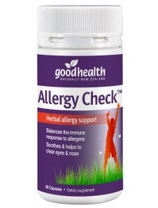 Good Health Products Allergy Check