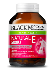 Blackmores Vitamin E 500IU (50caps)