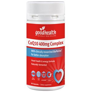 Good Health Products CoQ10 400mg 25 caps