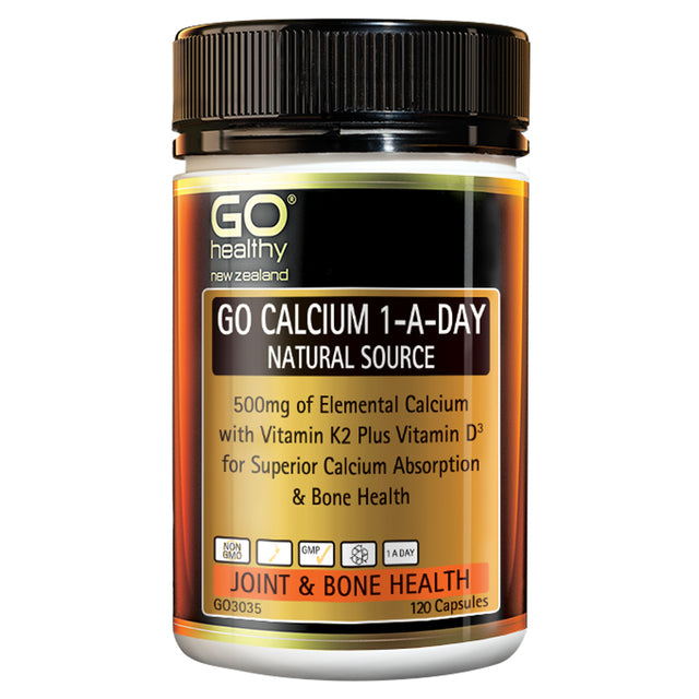 Go Healthy GO Calcium 1-A-Day (Natural Source)