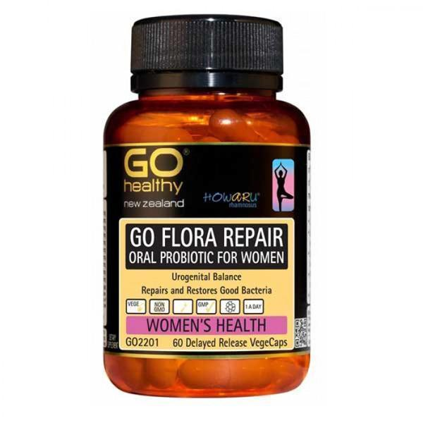 Go Healthy Go Flora Womens Probiotic