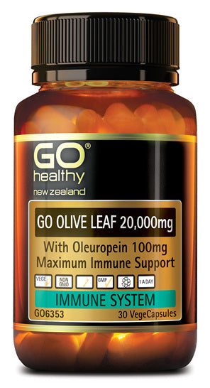 Go Healthy Go Olive Leaf 20,000