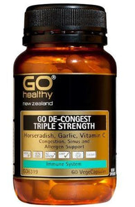 Go Healthy Go De-Congest Triple Strength