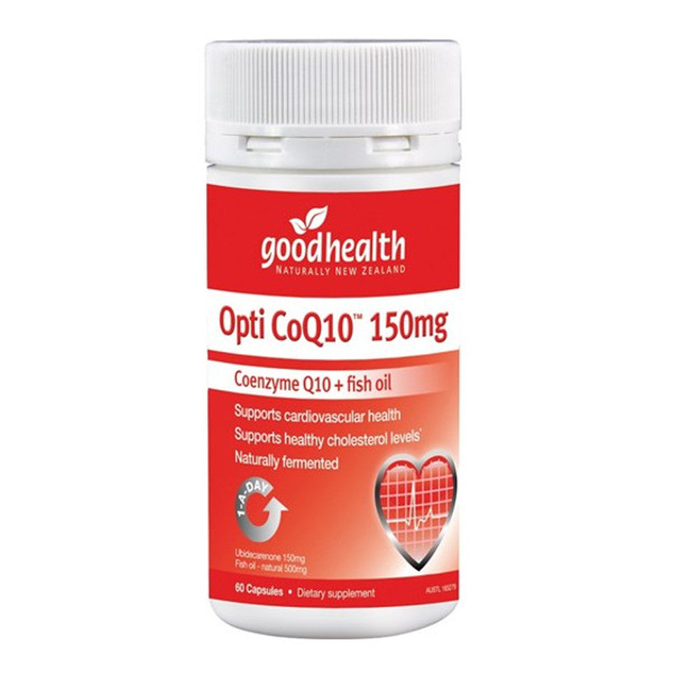 Good Health Product Opti CoQ10 + Fish Oil 150mg 60c