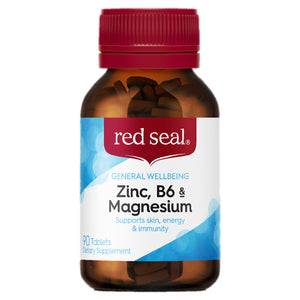 Red Seal Zinc, B6 and Magnesium