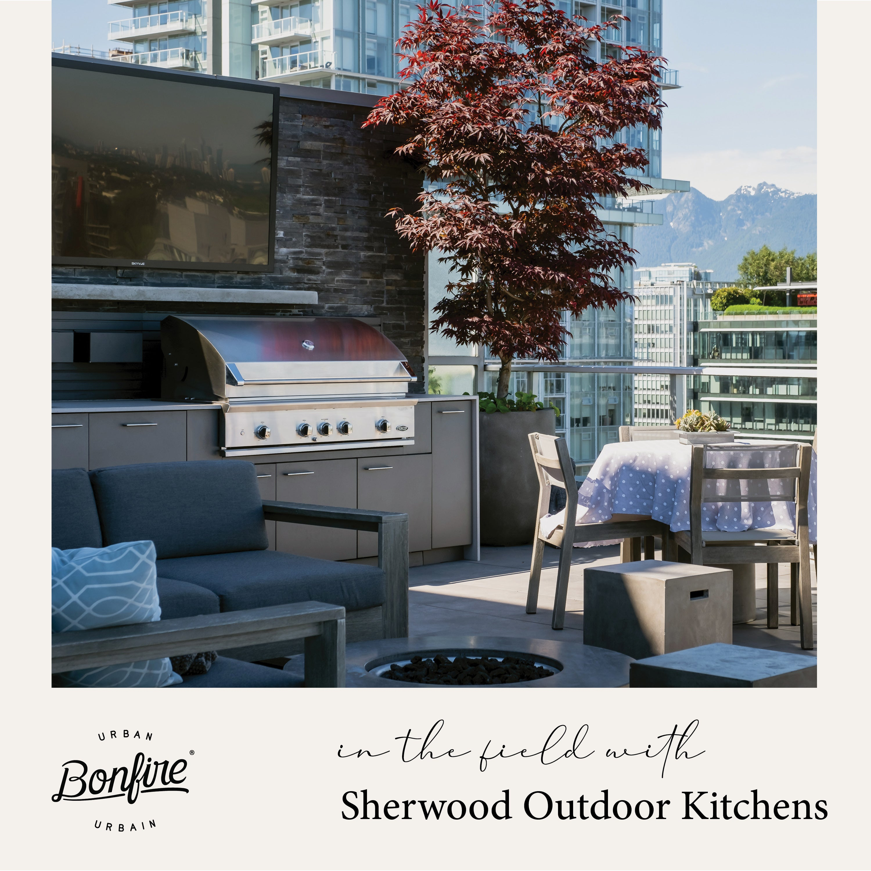 In the Field with Sherwood Outdoor Kitchens