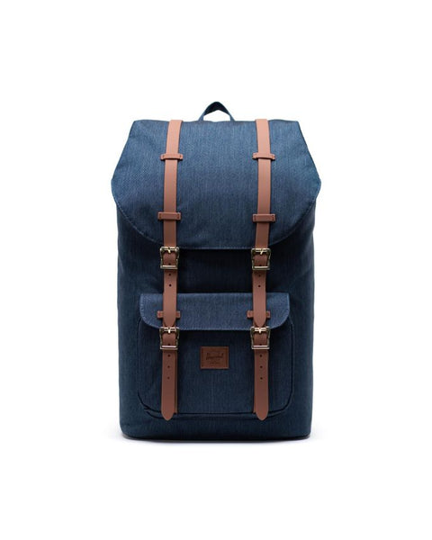 Herschel Little America Backpack (Indigo Denim Crosshatch)