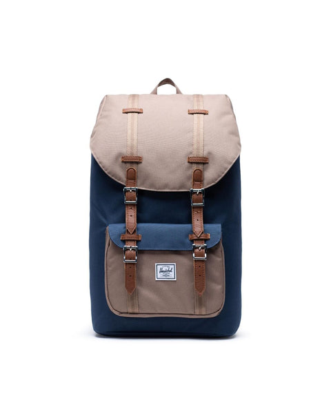 Herschel Little America Backpack (Navy/Pine Bark/Tan) - 加拿大網店限定