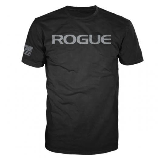 ROGUE BASIC T-SHIRT - MEN'S BLACK / SILVER