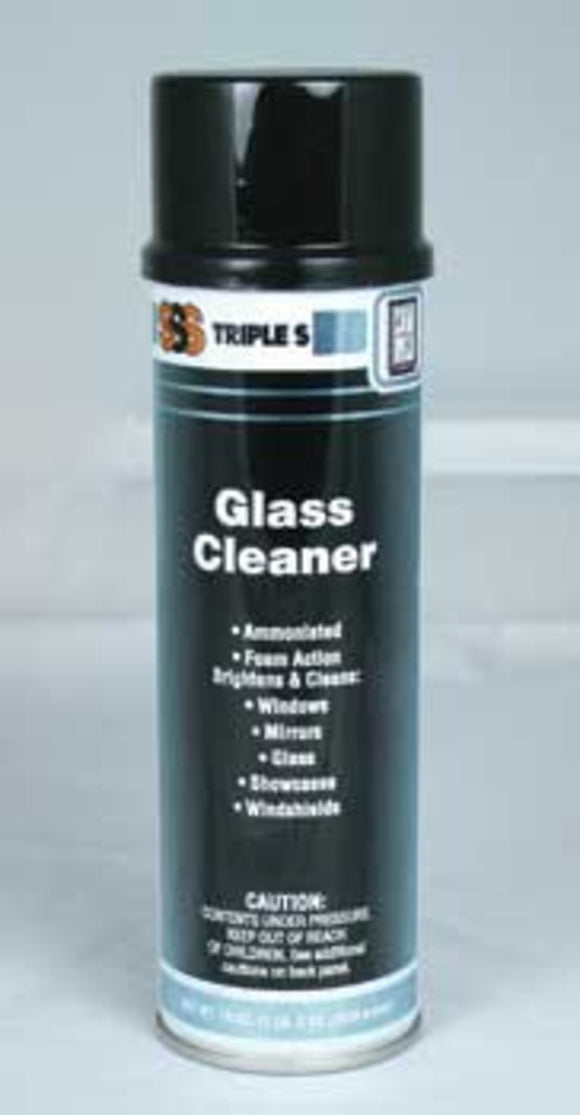 SSS 05002 Glass Cleaner, 19 oz., 12/cs