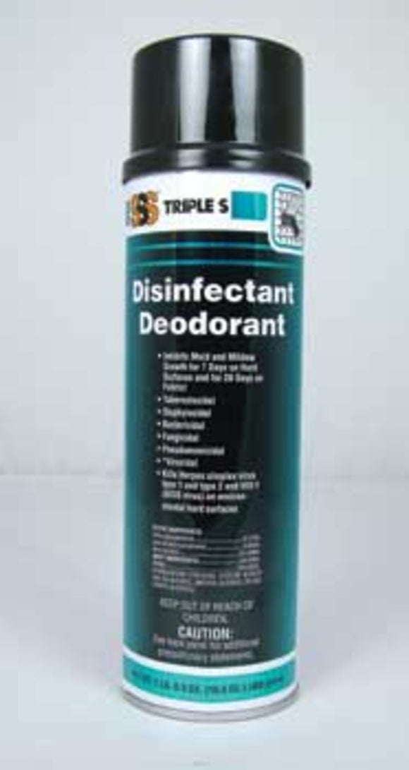 SSS 05003 Disinfectant Deodorant, 16.5 oz., 12/cs