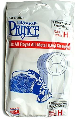Royal Genuine Type H Prince Vacuum Bag 3pk, 3050247001