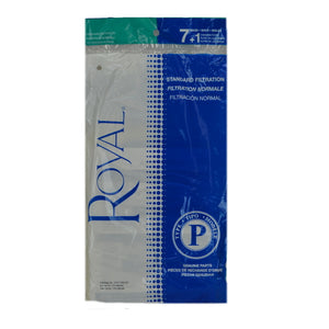 Royal Genuine Type P Standard Filtration Bags 7+1, 3RY1100001