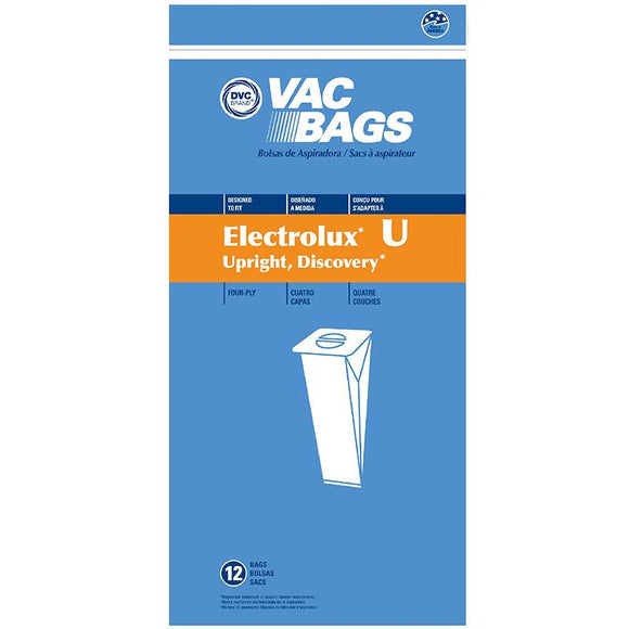 Electrolux Replacement Discovery II 4-Ply Vacuum Bag, 12pk