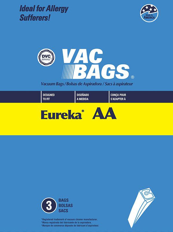 Eureka Replacement Type AA Paper Vacuum Bags Bag, 3pk