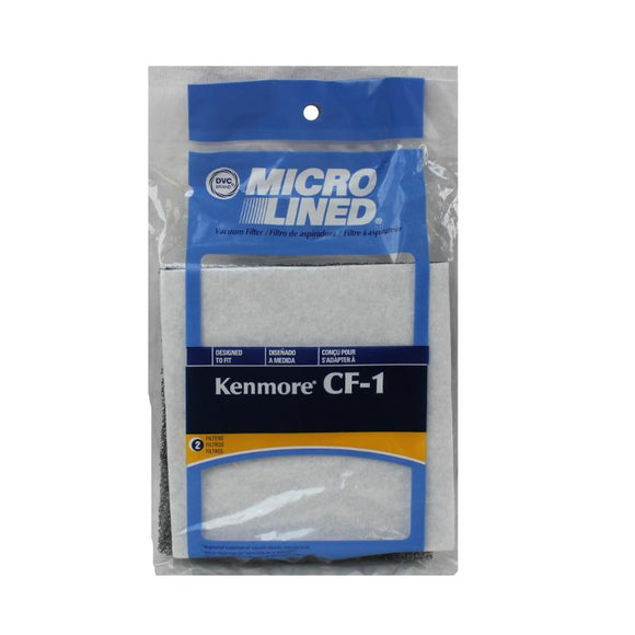 Kenmore Replacement CF-1 Foam Filter, 2pk