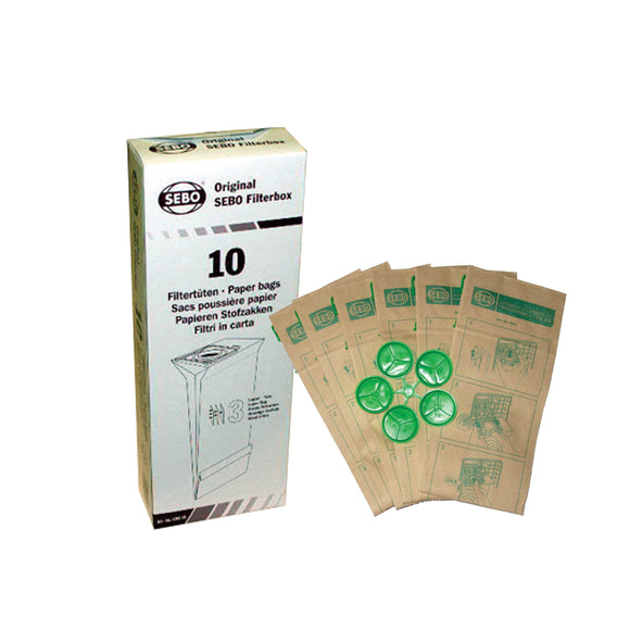 Filter Bag Box  - X, G, C, 300, 350 and 370 (1 pc), 8 three-layer Ultra Bags with caps, 5093AM