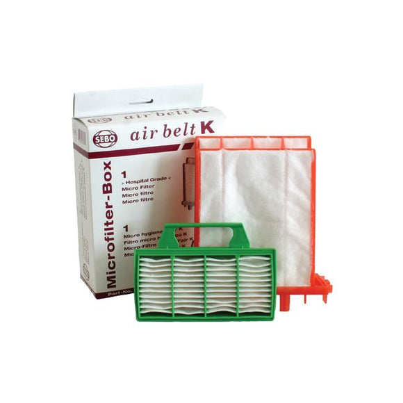 Filter Set AIRBELT K (1 micro filter and 1 exhaust filter)