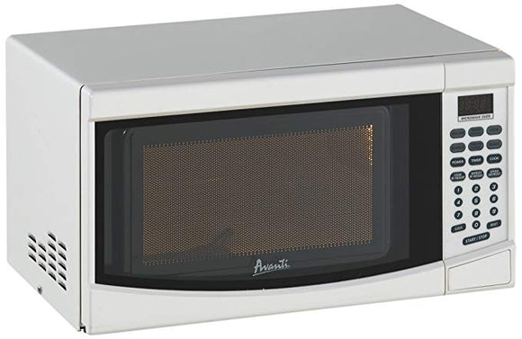 Avanti 0.7 CF Countertop Microwave Oven with Touch Pad, White