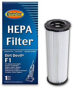 Dirt Devil Replacement Style F1 HEPA Filter, F928