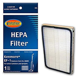 Kenmore Replacement EF-1 HEPA Filter, F976