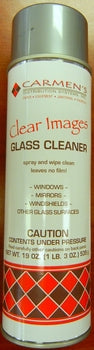 Facet Clear Images Foaming Glass Cleaner, 15oz aerosol, each