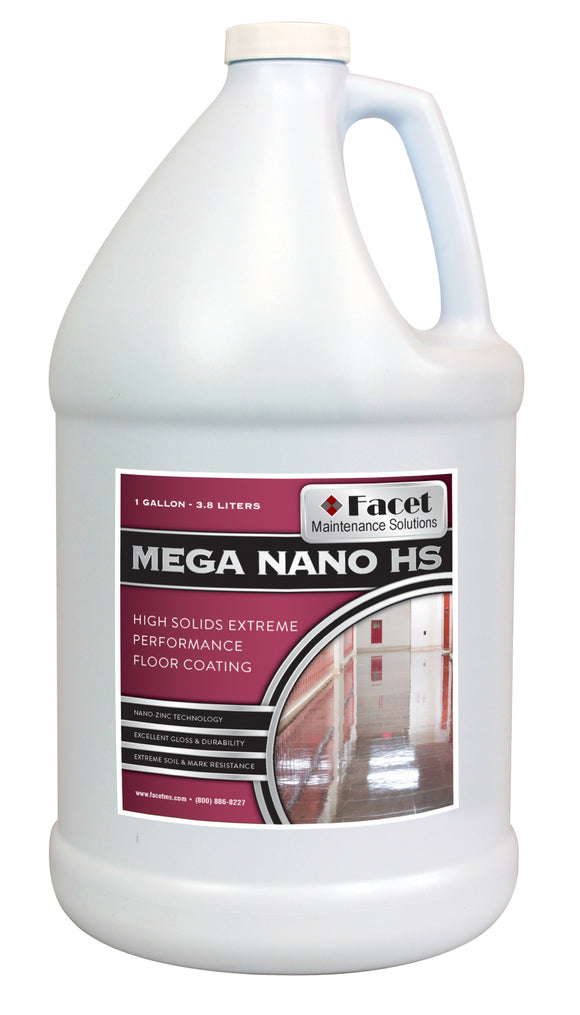 Facet Mega Nano High Solids Extreme Performance Coating with Patented Nano-Zinc Technology, One Gallon