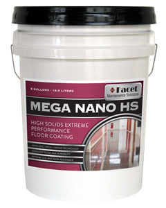 Facet Mega Nano High Solids Extreme Performance Coating with Patented Nano-Zinc Technology, Five Gallons