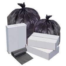 43x47 Performance High Density 15 micron Extra Heavy Black Can Liner, 56 gal, Coreless roll, 200 bags/case