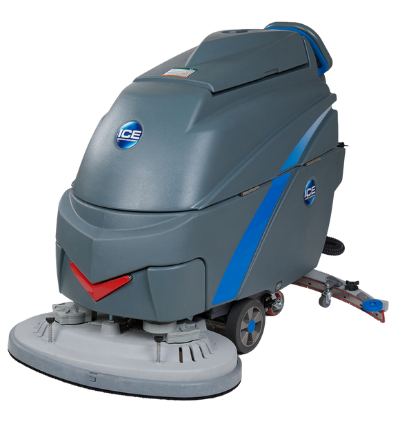 i28BT Walk-Behind, Traction-Drive Auto Scrubber with i-Synergy Lithium-Ion Batteries