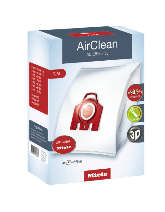 Miele AirClean 3D Efficiency Filter Bags FJM