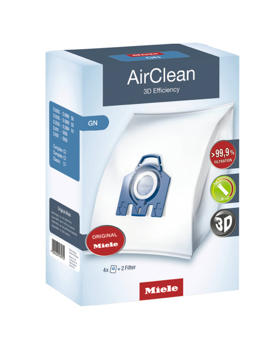 Miele AirClean 3D Efficiency Filter Bags GN