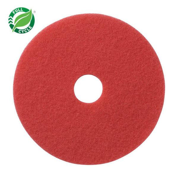 Facet Red Buffing Pads 12