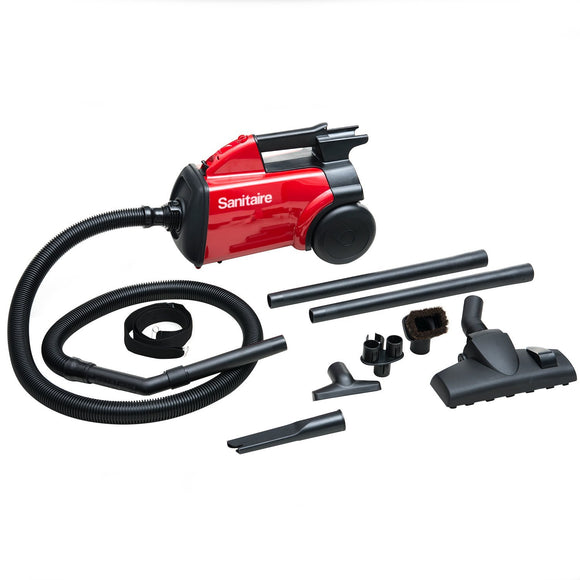 Sanitaire SC3683B EXTEND™ Canister Vacuum, Red