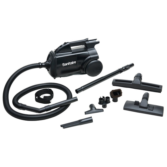 Sanitaire SC3687A EXTEND™ Canister Vacuum, Black