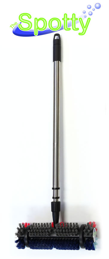 Cleanovation Spotty Brush with Telescopic Handle